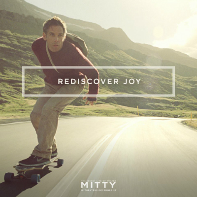 rediscover joy quote from the Secret Life of Walter Mitty with Ben Stiller